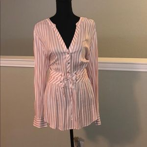 NWT Hi/Lo top, adjustable built-in belt